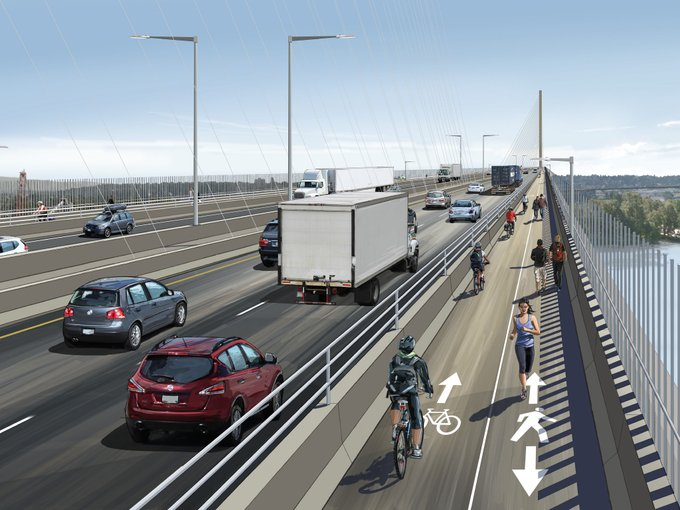 Pattullo Bridge Rendering