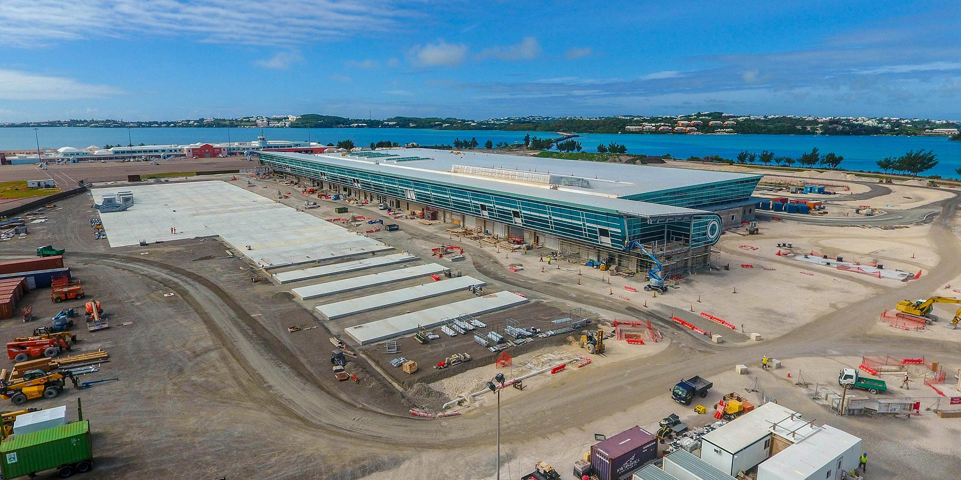 Bermuda Airport Construction