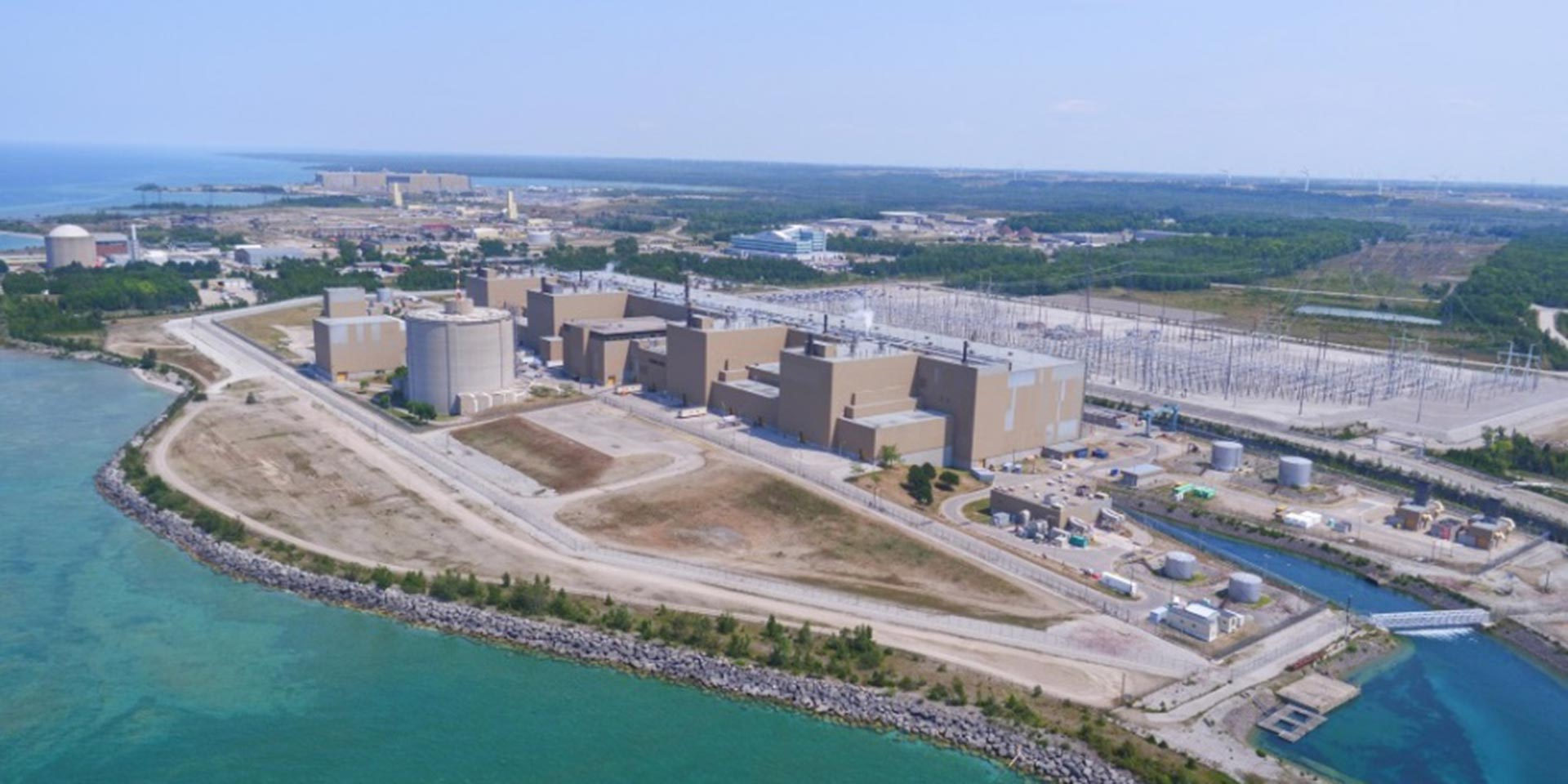 Bruce Power Rendering