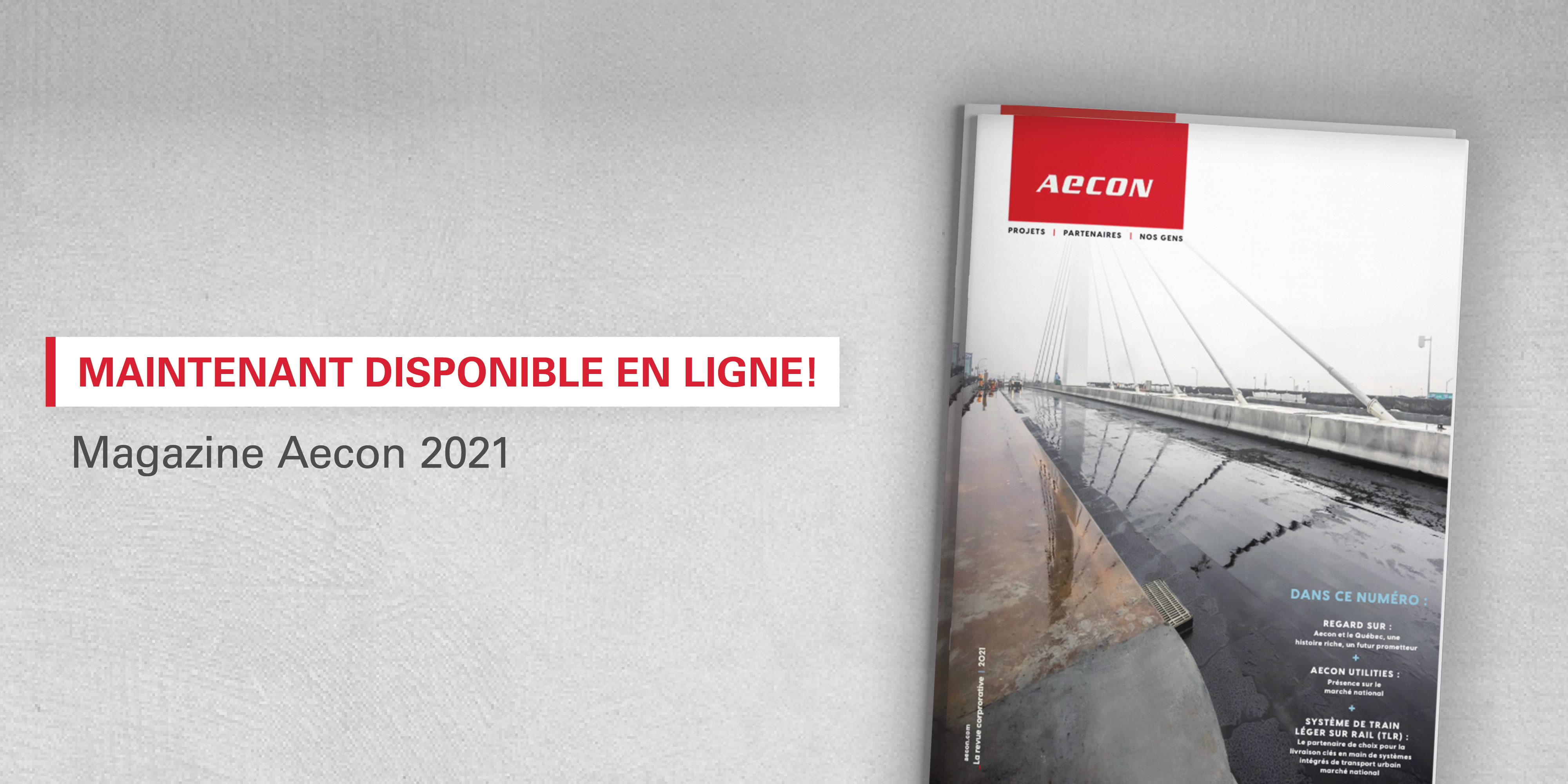 Aecon Magazine in French