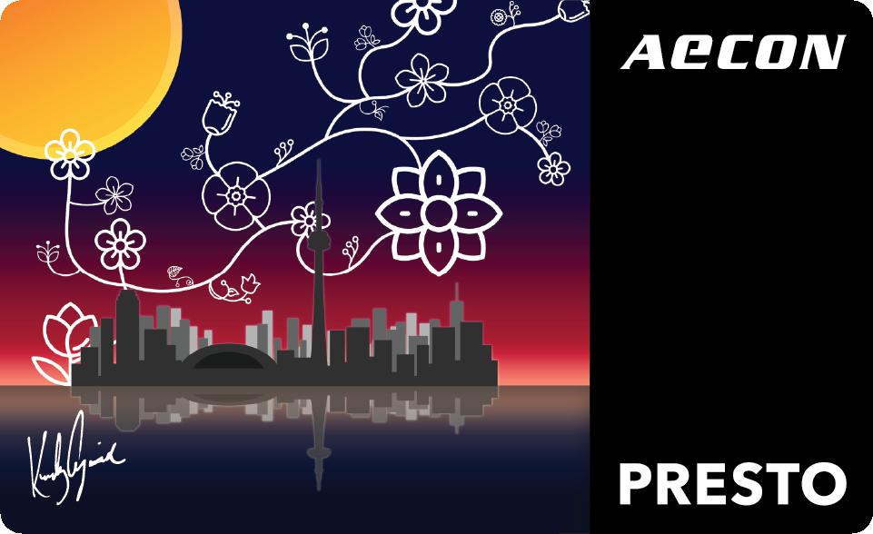 Metrolinx Presto Card designed by Karly Cywink
