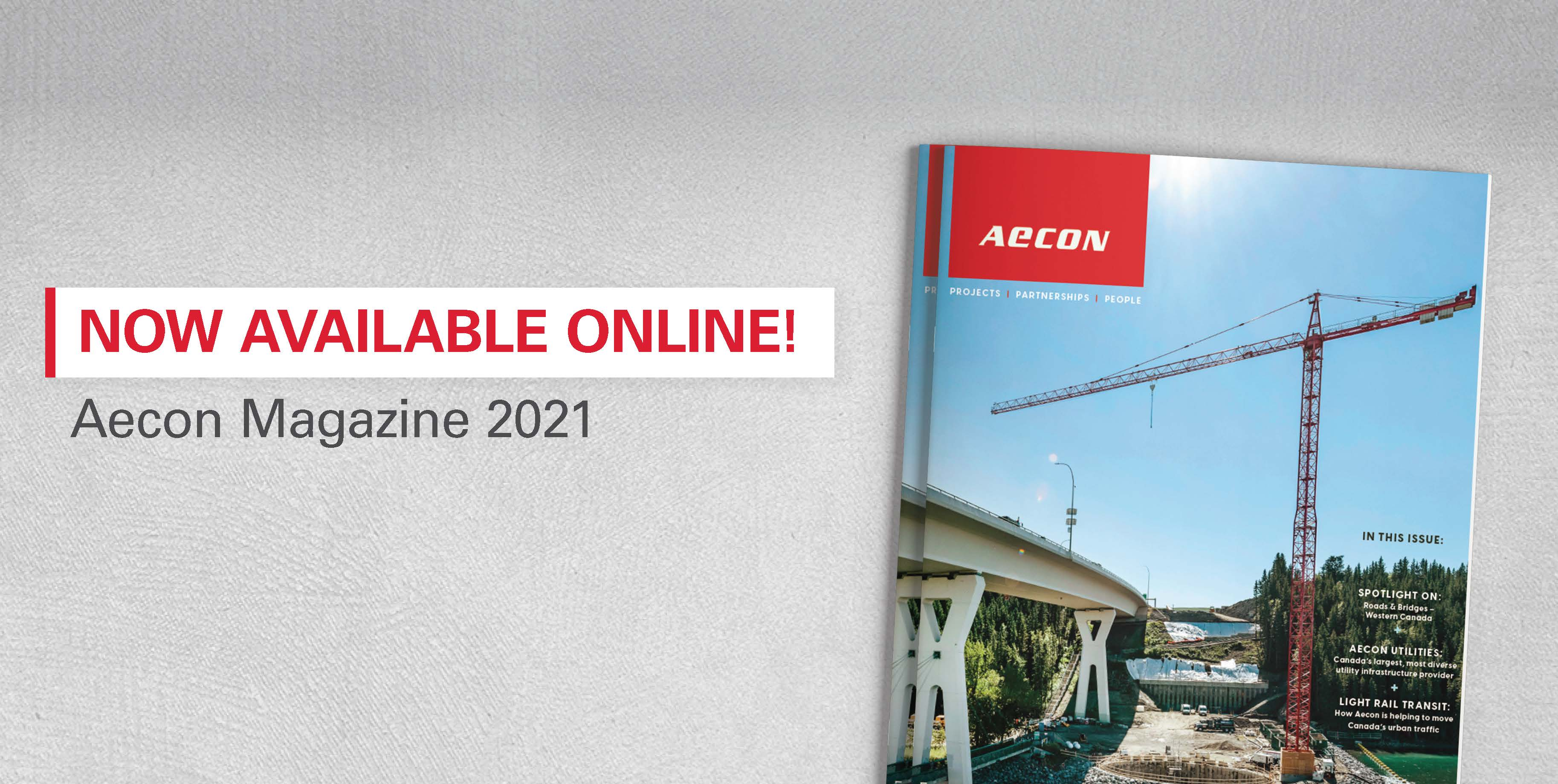 Aecon Magazine 2021 Slider Image