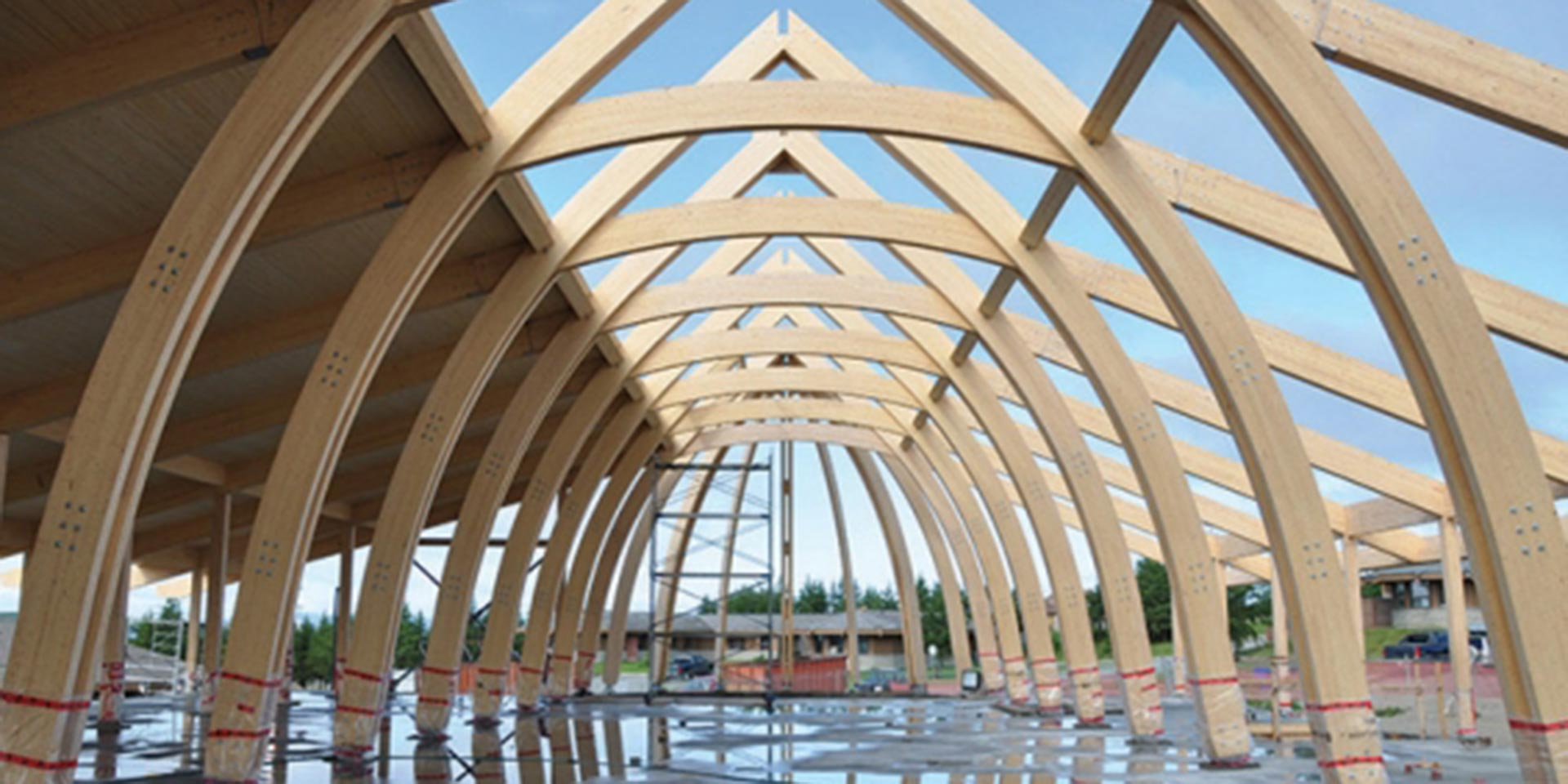Cree Cultural Centre Construction