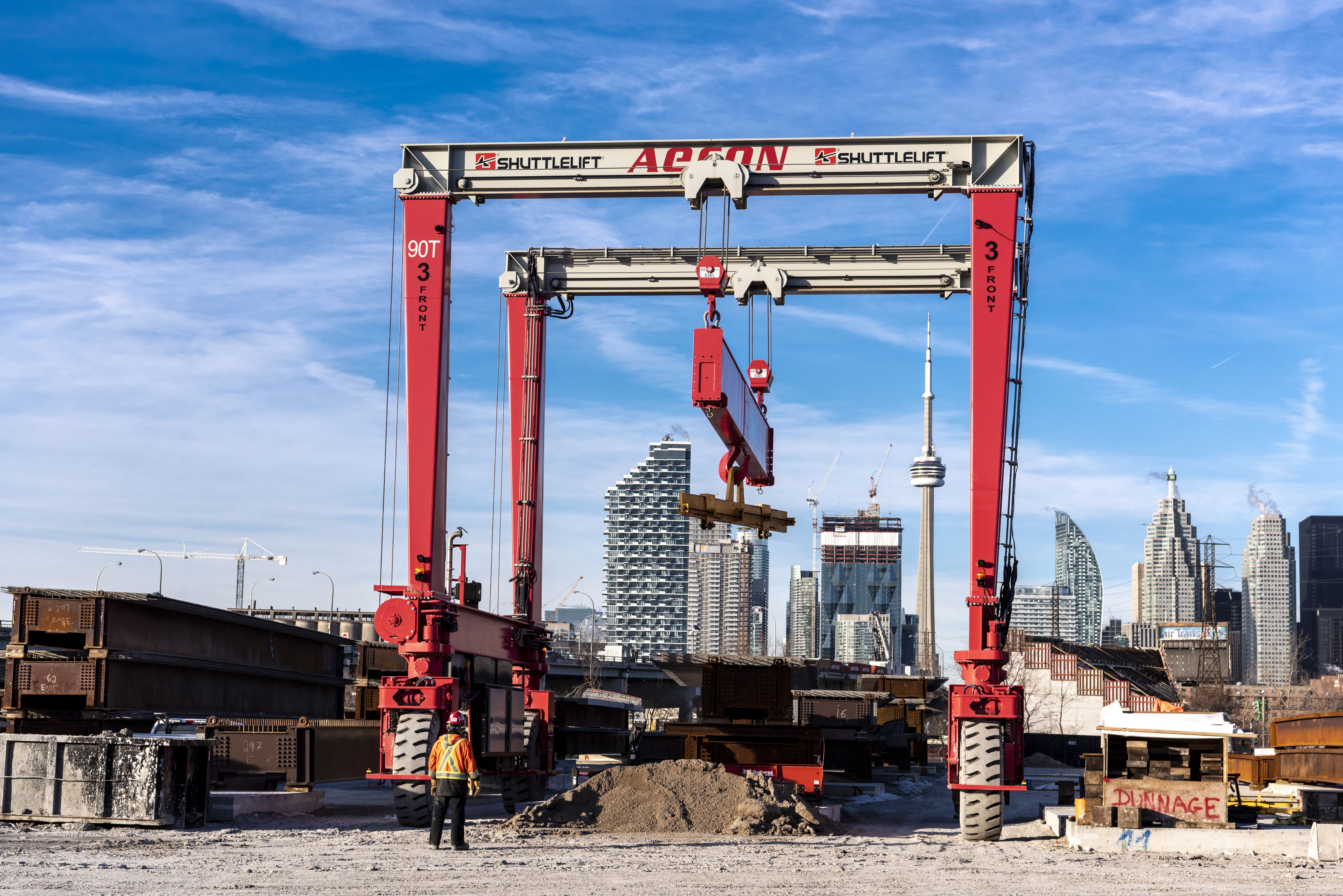 Aecon construction site