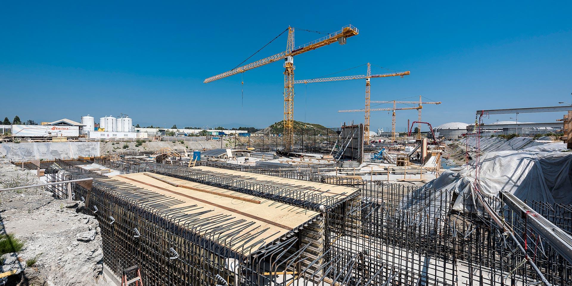 Chantier Annacis Construction