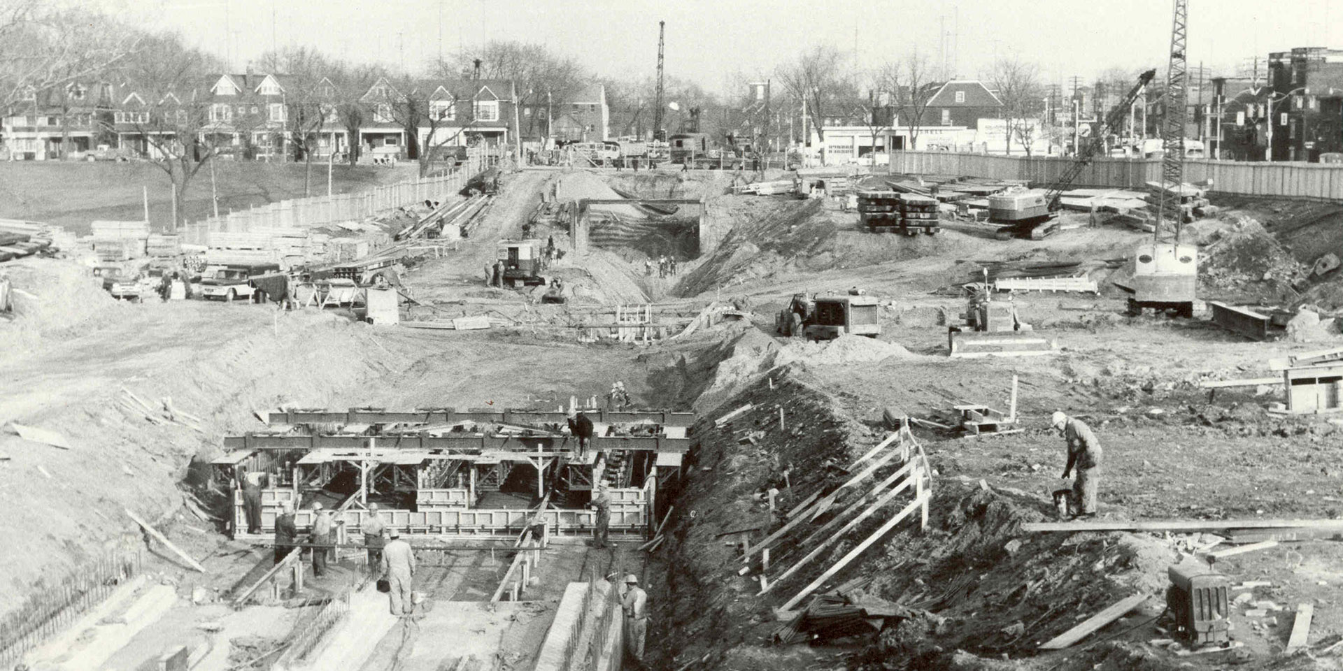 Bloor Danforth Subway Line 1963
