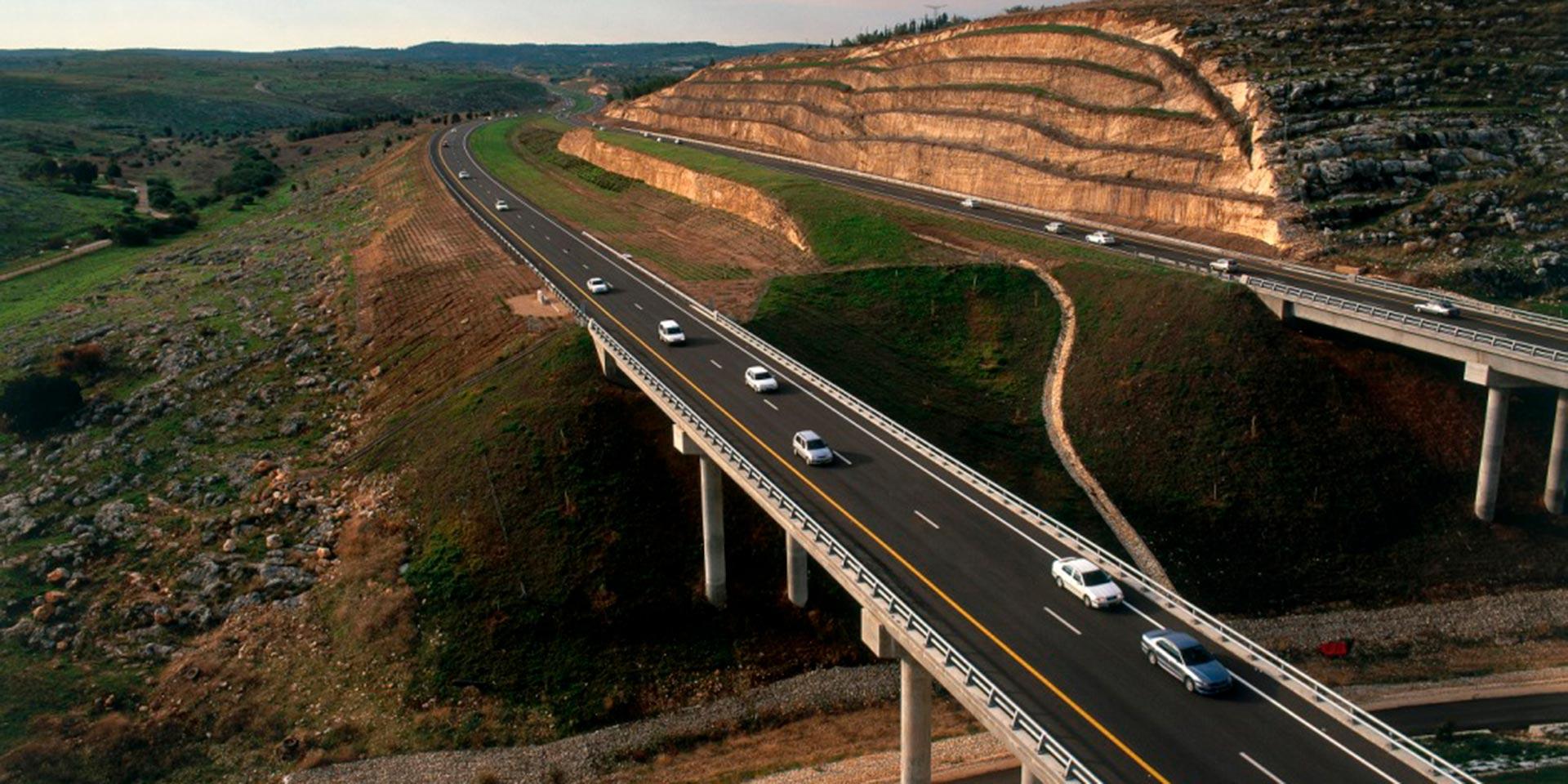 Cross Israel Highway Rendering
