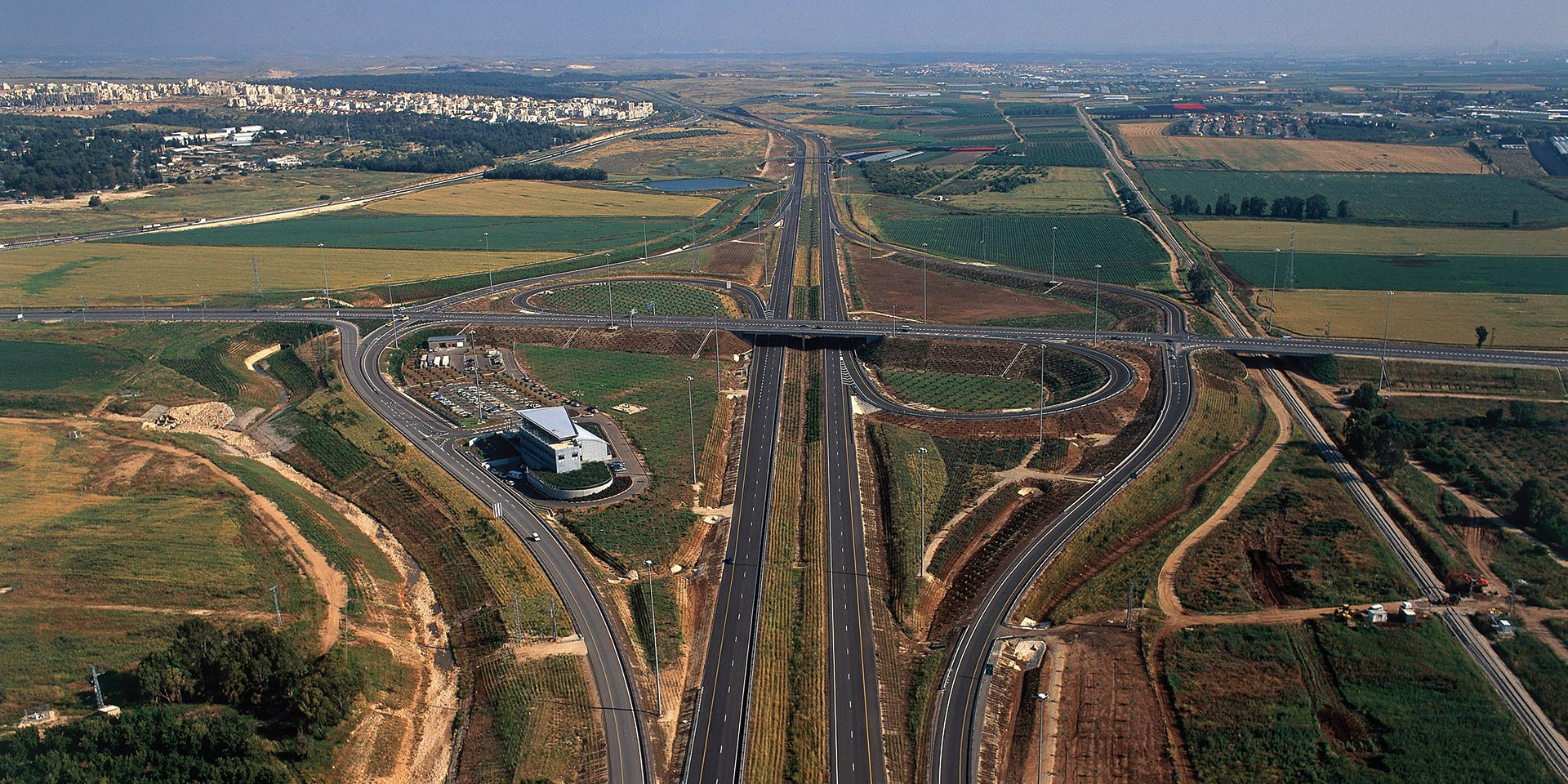 Cross Israel Highway Landscape