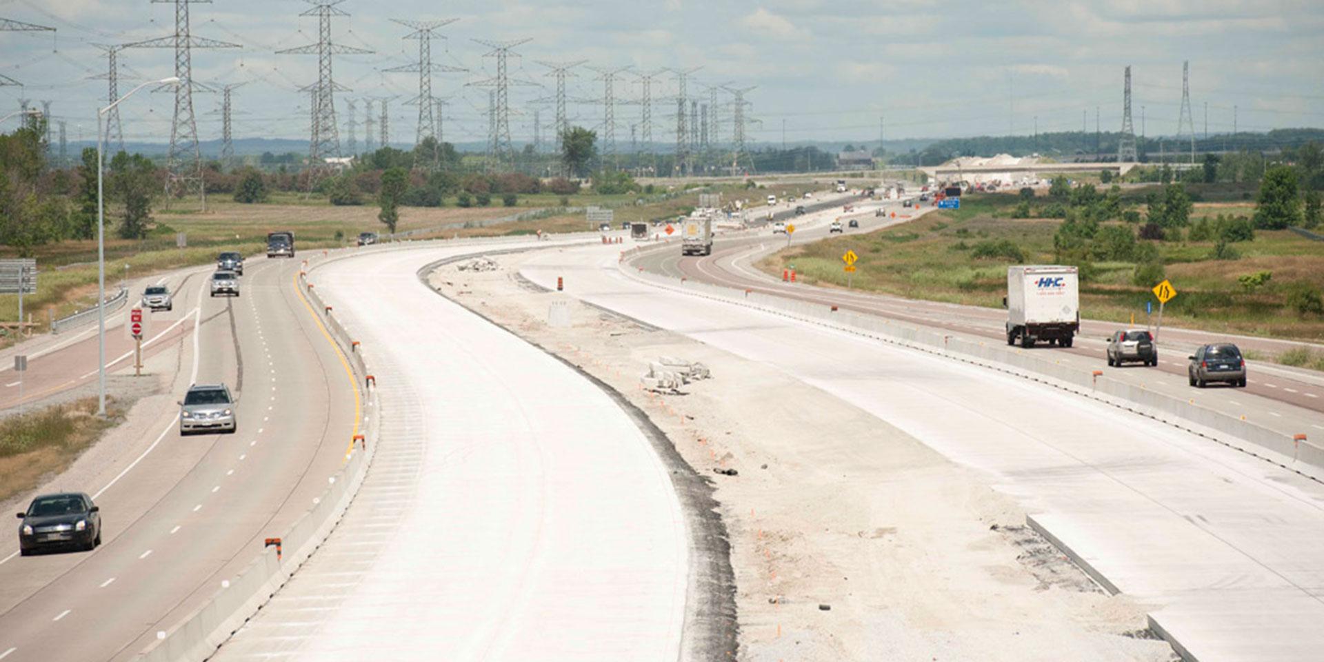 Highway 407 Landscape