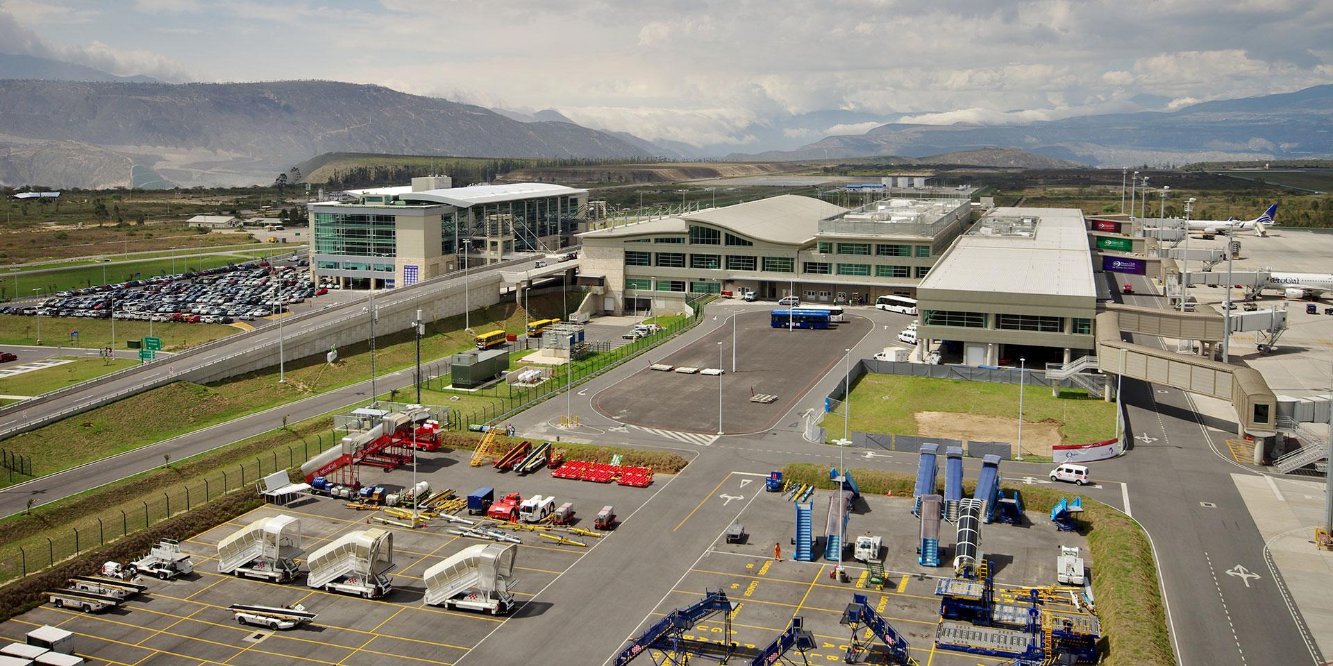 Quito Airport Building