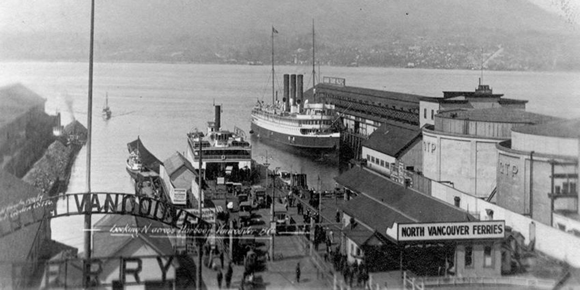 Vancouver Ferry Terminal 1942