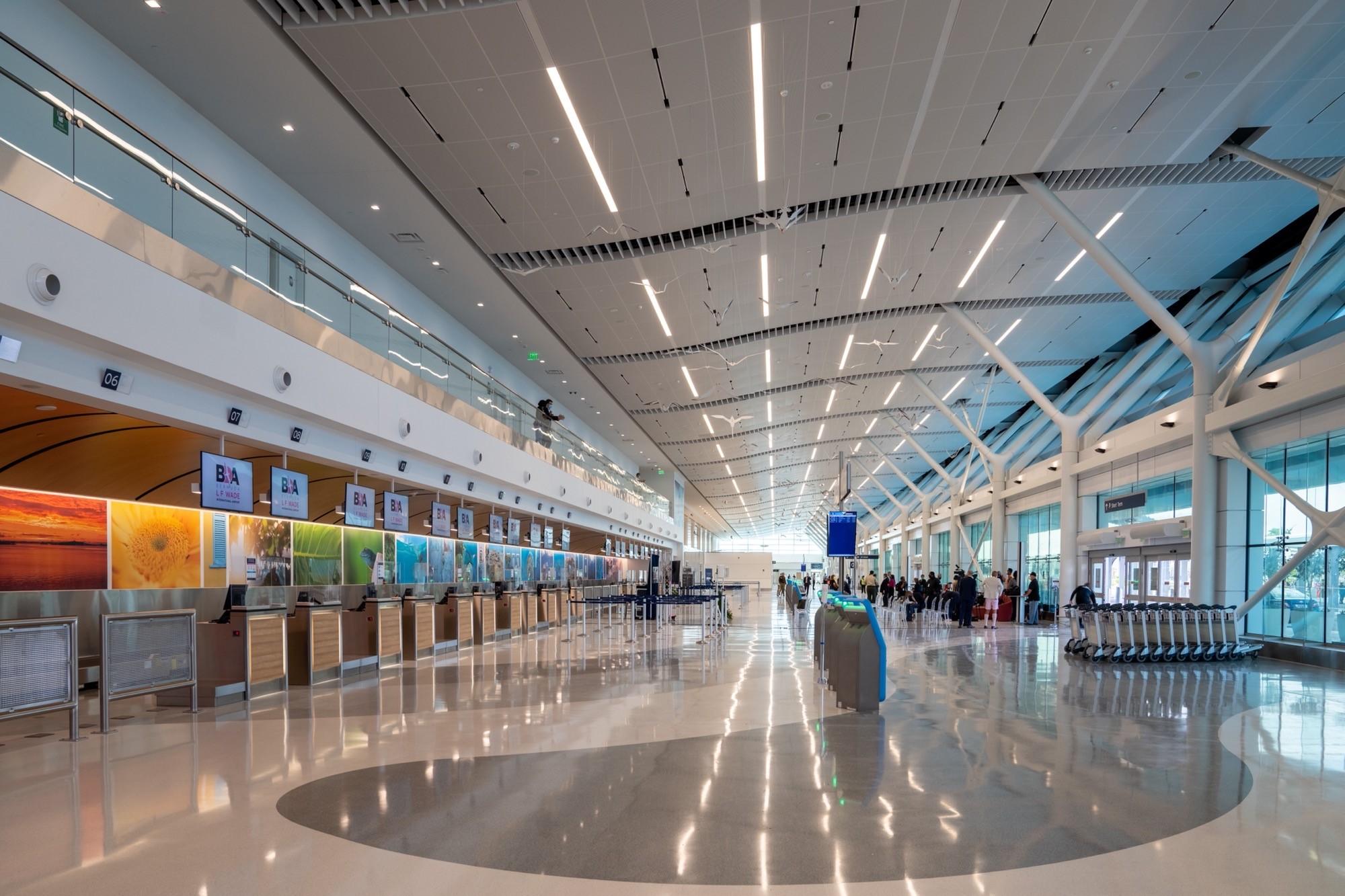 Bermuda Airport Opening Photo - interior