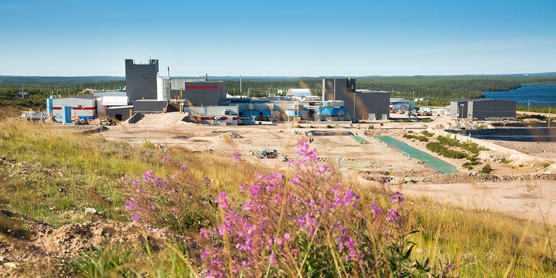 Areva McLean Lake Mill Expansion Landscape