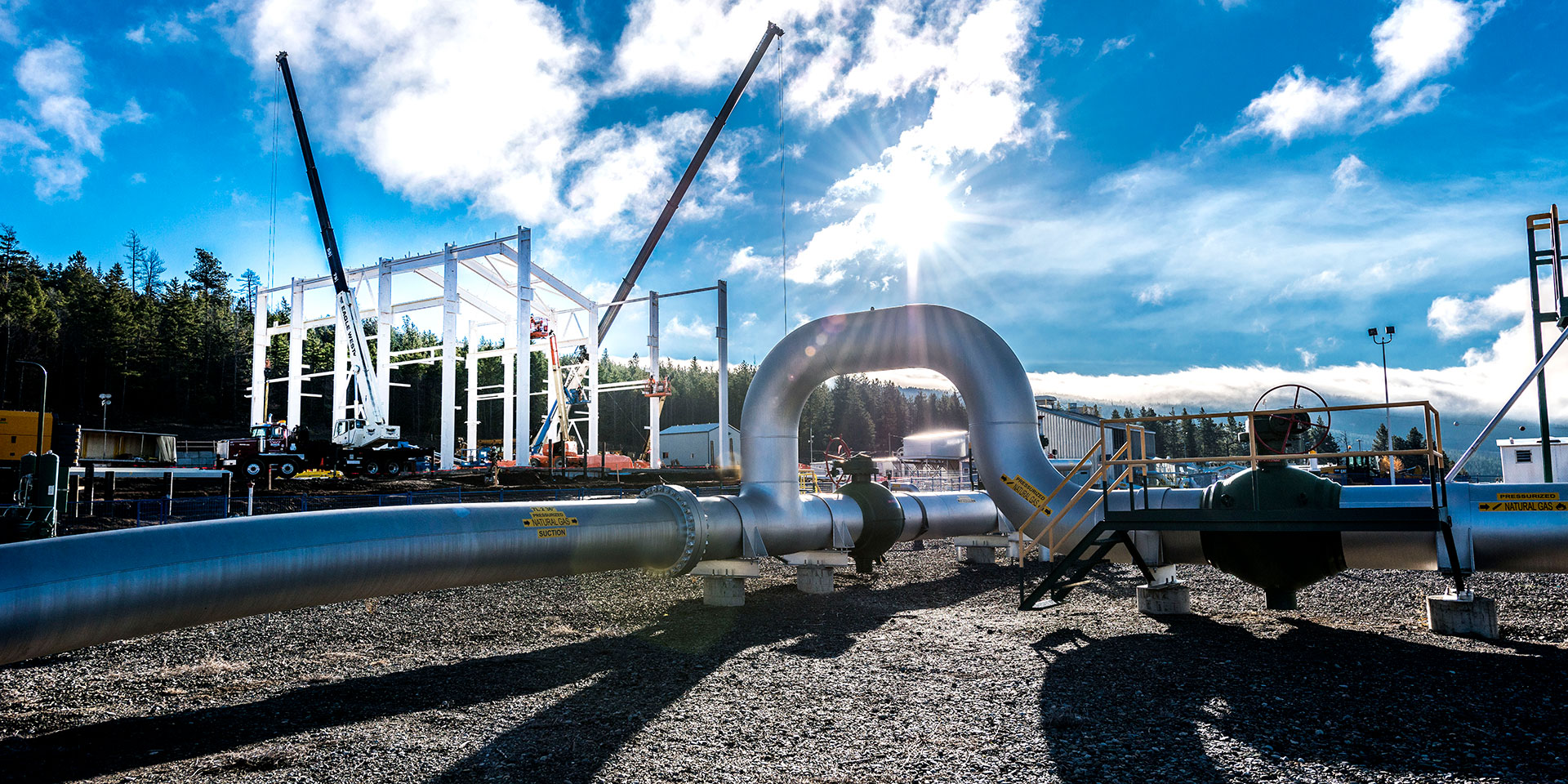 Spectra Energy Pipeline Facilities Exterior