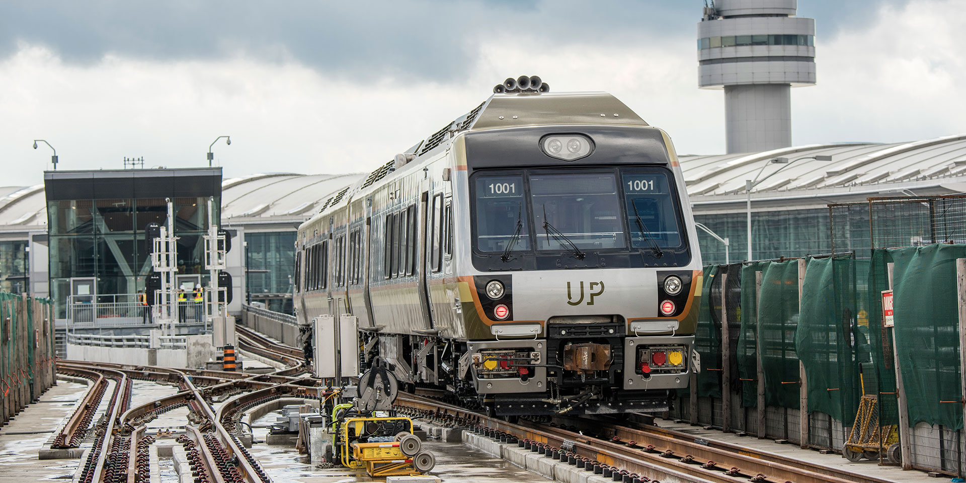 Union-Pearson (UP) Express Front Train