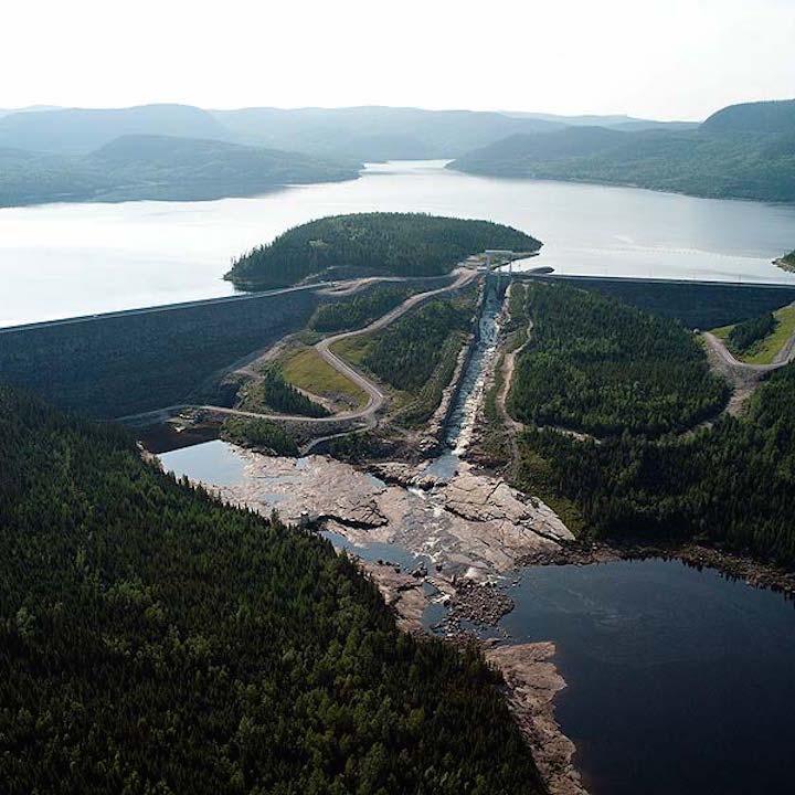 Toulnustouc Hydroelectric Dam